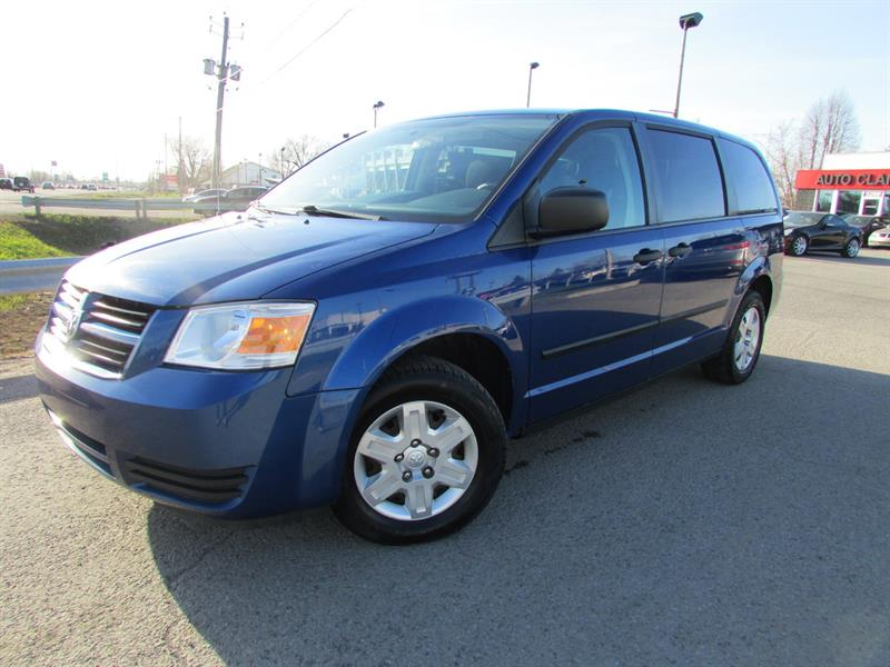 Dodge Grand Caravan 2010 SE 7 PASS. A/C CRUISE GR ELECTRIQUE!! #4414