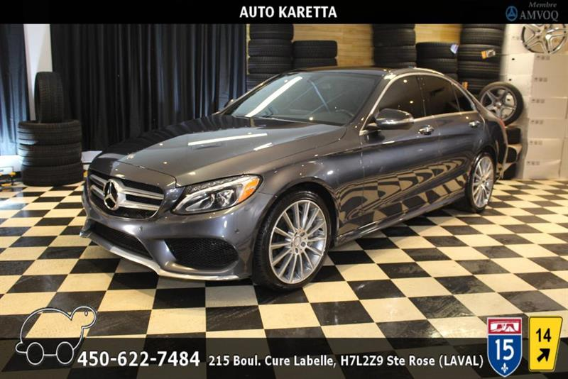 Mercedes-Benz C-Class 2015 C400 4MATIC SPORT AMG PACK, NAVI, LED, PANO, CAM #AS9030