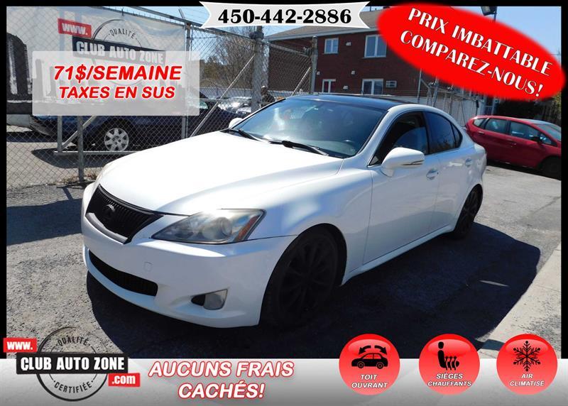 Lexus IS 250 2009 AWD AUTOMATIQUE #92029669