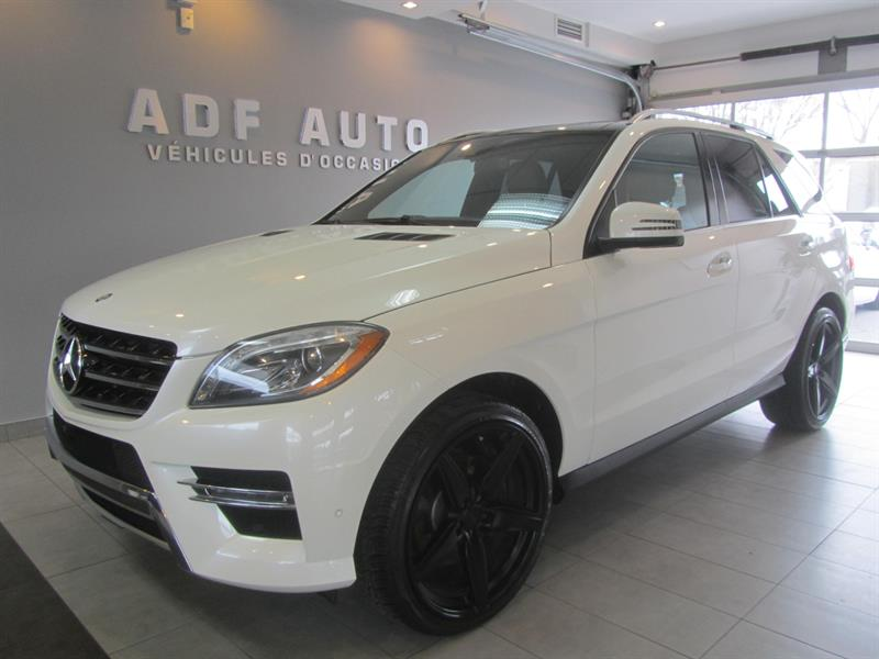 Mercedes-Benz M-Class 2015 ML350 BLUETEC 4MATIC AMG PACKAGE #4450