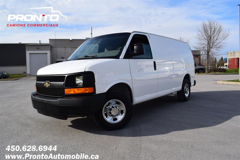 Chevrolet Express Cargo Van 2013 2500 ** 4.8L ** Gr. Électrique ** Full rack **  #1847