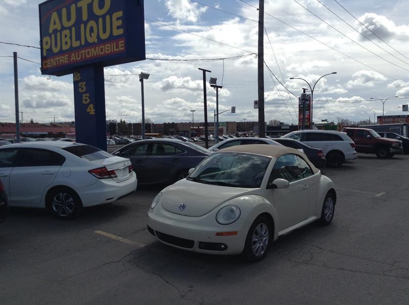 Volkswagen New Beetle Convertible 2009 Decapotable #40237