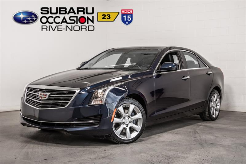 Cadillac ATS Sedan 2015 2.0L Turbo AWD CUIR+SIEGES.CHAUFFANTS #191511A