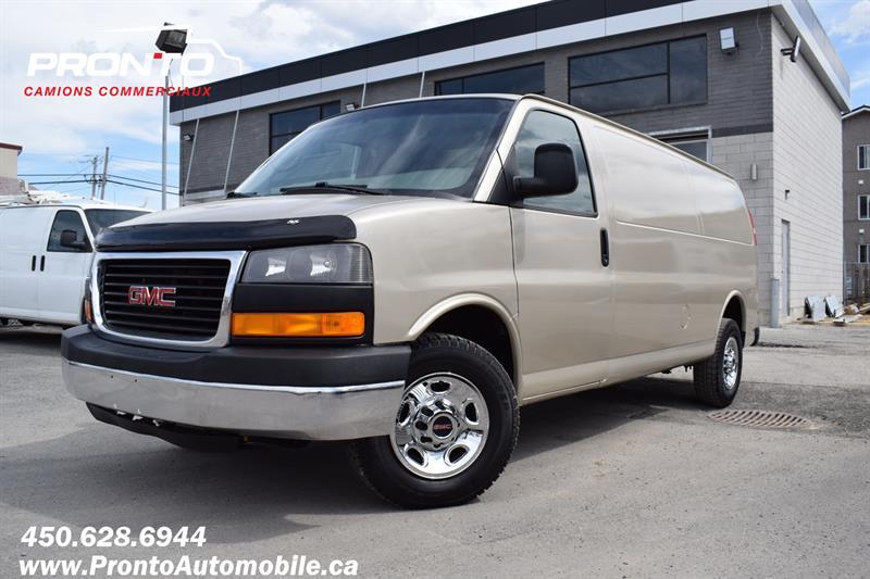 GMC Savana Cargo Van 2012 2500 ** Allongé ** 4.8L ** Attache remorque **