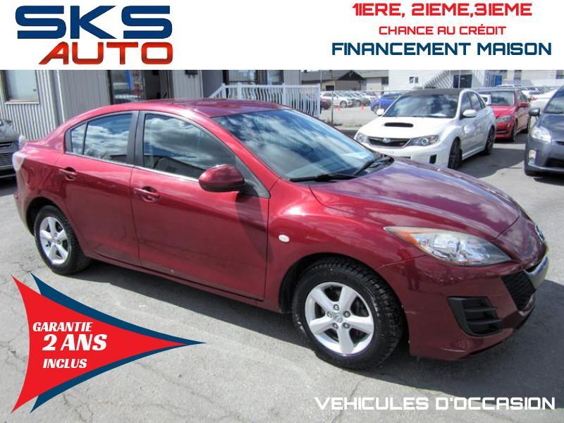 Mazda Mazda3 2010 GX (GARANTIE 2 ANS INCLUS) *FINANCEMENT MAISON* #SKS-4379