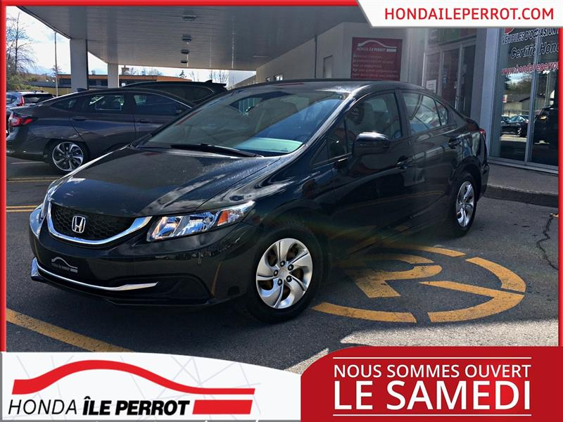 Honda Civic Sedan 2015 4dr Man LX UN SEUL PROPRIETAIRE  #44994