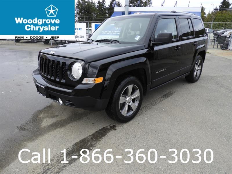 2017 Jeep Patriot FWD 4dr High Altitude Edition #U3124A