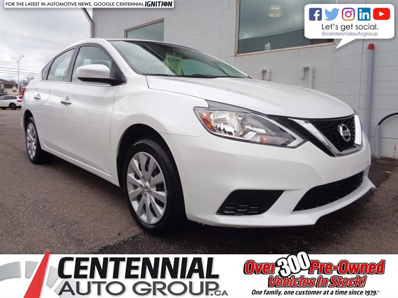 2018 Nissan Sentra 1.8 SV FWD *2018 CLEAROUT - SAVE $3,311* #18-259