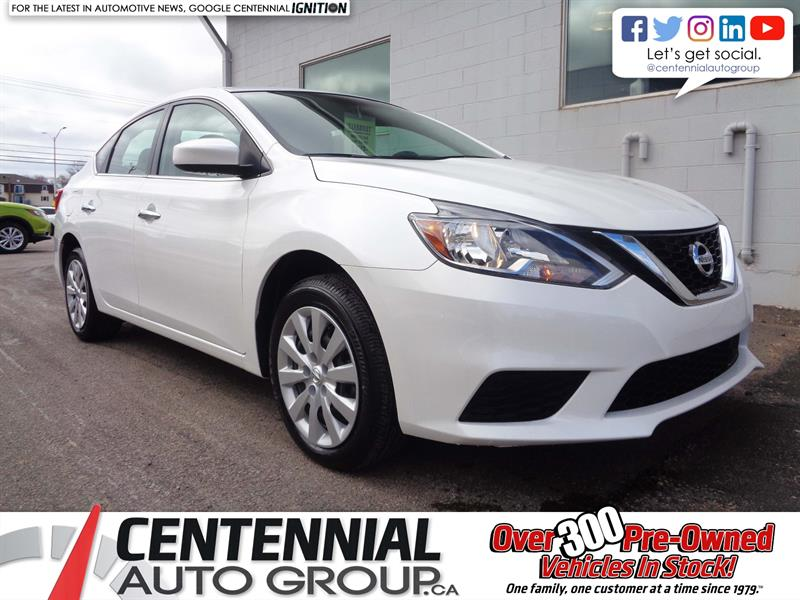 2018 Nissan Sentra 1.8 SV FWD *2018 CLEAROUT - SAVE $3,311* #18-263