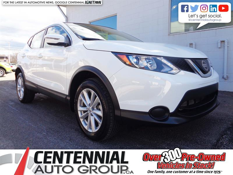 2018 Nissan Qashqai S FWD *2018 CLEAROUT - SAVE $* #18-364