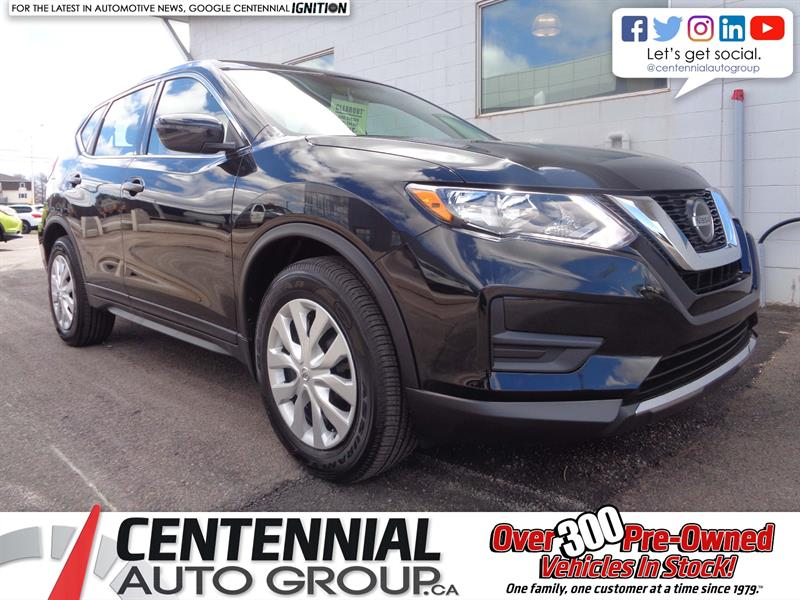 2018 Nissan Rogue S FWD *2018 CLEAROUT - SAVE $3,331* #18-313