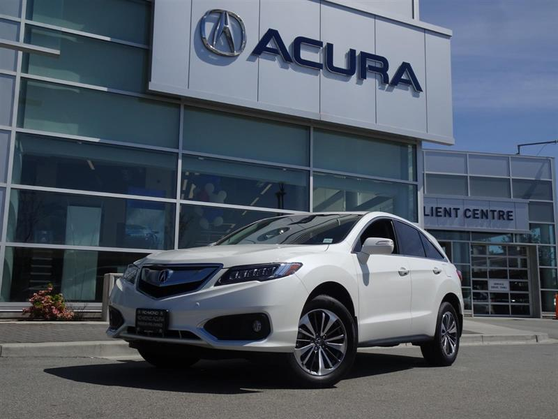 2016 Acura RDX Elite|Acura Certified|Local Car|One Owner|No Accid #937527A
