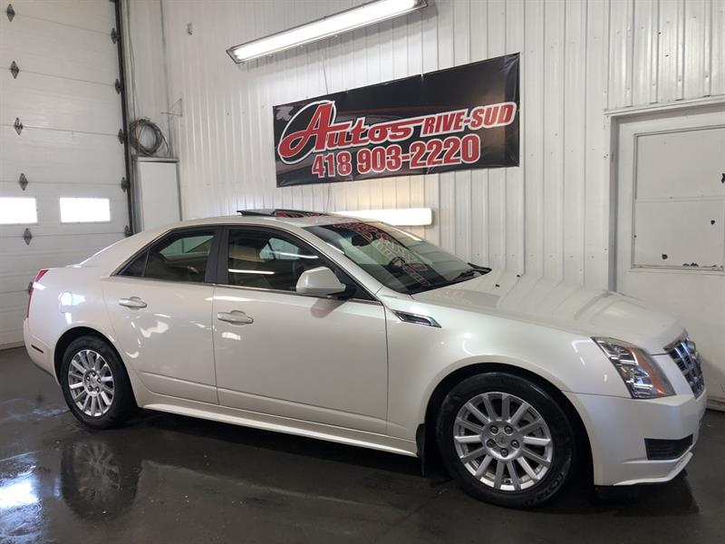 Cadillac CTS 2012 Luxury 3.0L AWD FULL CUIR/TOIT SEULEMENT 103KM #STEPH0795