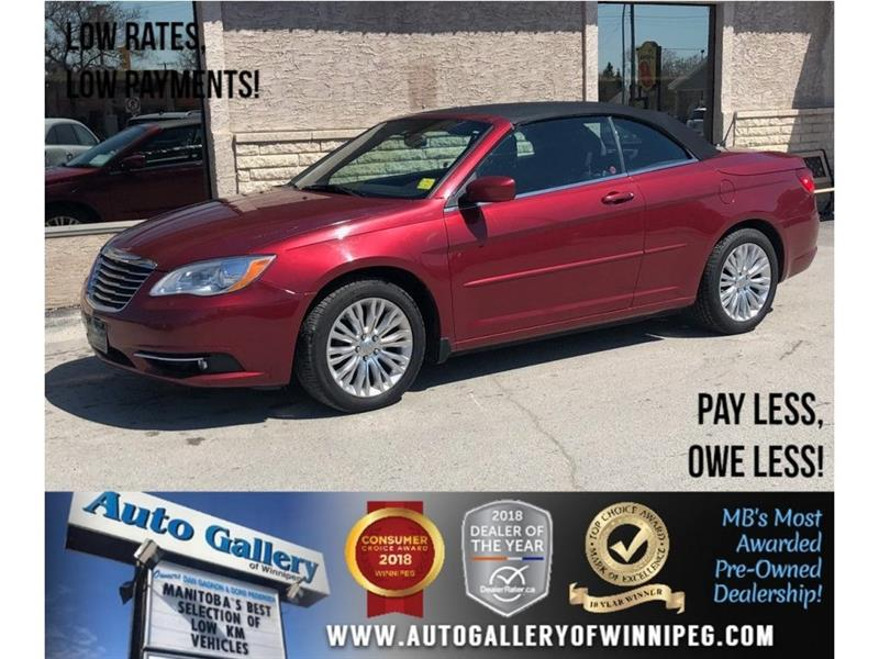 2013 Chrysler 200 Touring *V6/Heated Seats/Convertible #23301A