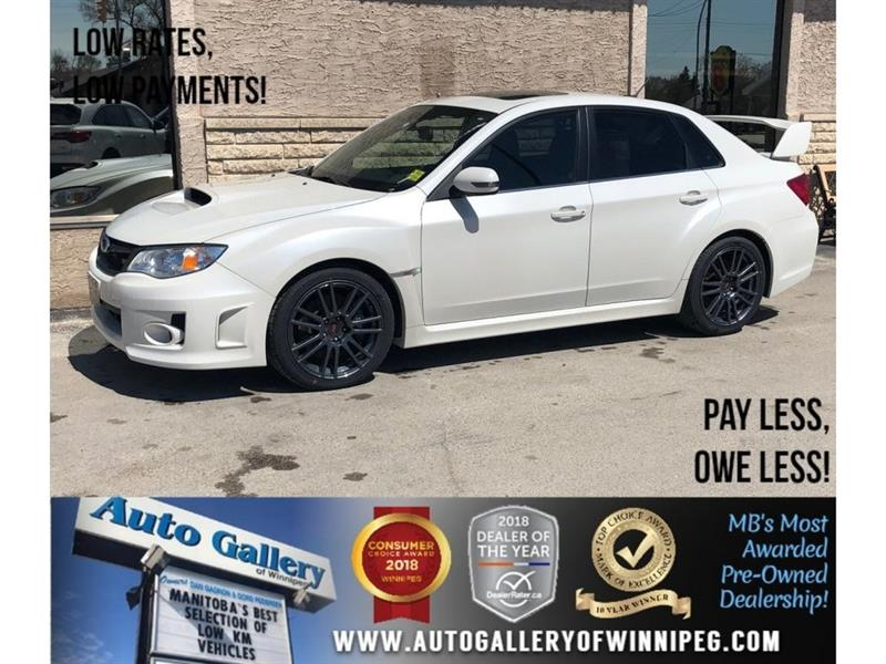 2014 Subaru Wrx STI *AWD/Lthr/6Spd/Roof/Bluetooth #23107