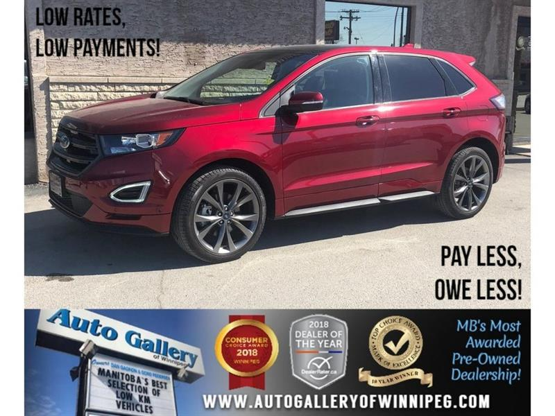 2018 Ford EDGE Sport *AWD/Htd Seats/Navi/Pano Roof #23862