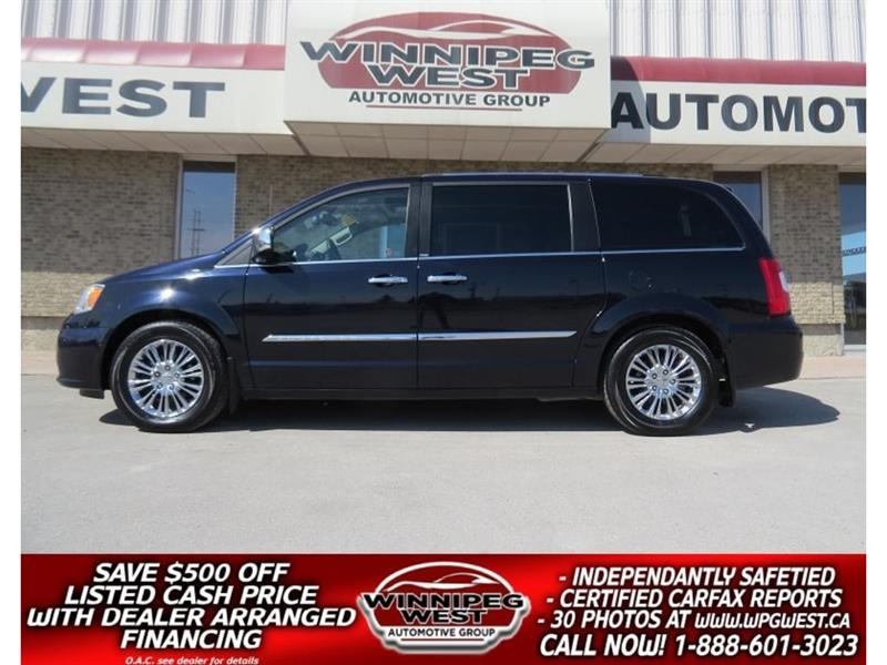 2011 Chrysler Town & Country LIMITED, DVD, SUNROOF, BLIND SPOT, PWR DOORS/GATE #CON173