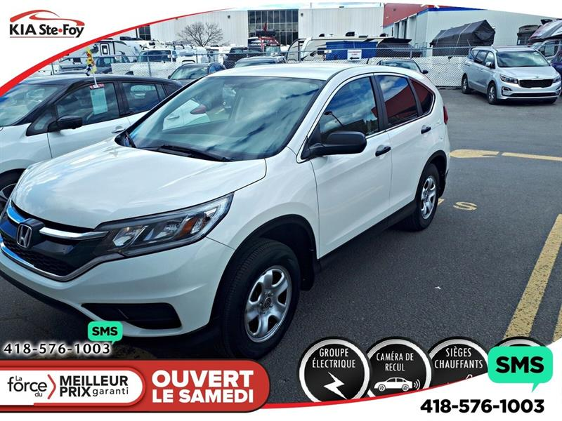 Honda CR-V 2015 LX *AWD *SIEGES CHAUFFANTS *CAMERA *CRUISE *A/C #U2371