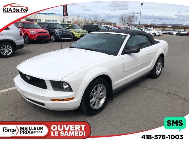 Ford Mustang 2007 V6 ** 4.0L ** DÉCAPOTABLE ** #U2386