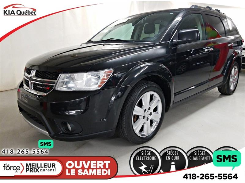 Dodge Journey 2013 R/T* V6* AWD* DVD* CUIR* 7 PLACES* #K190781A