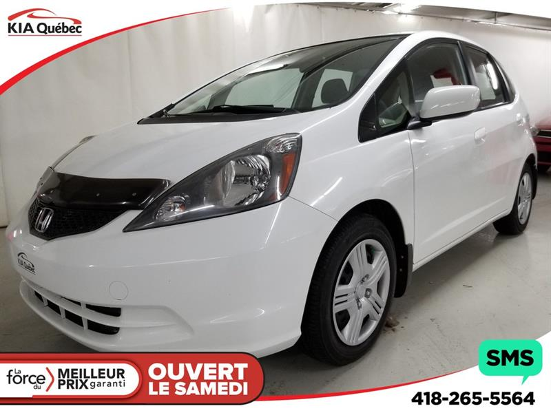 Honda Fit 2012 LX* AUTOMATIQUE* A/C* BLUETOOTH* #QU10543A