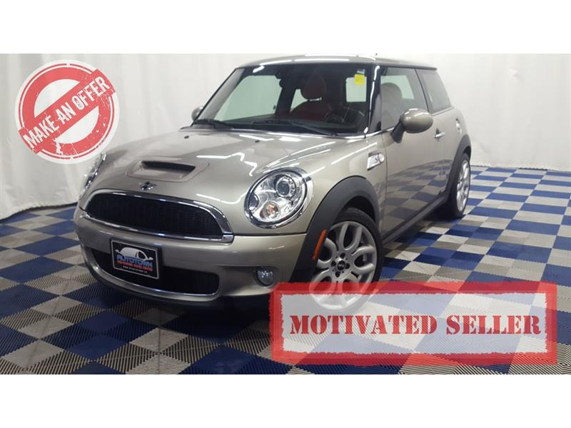 2007 Mini Cooper S LEATHER/SUNROOF/HTD SEATS! #7MC85542