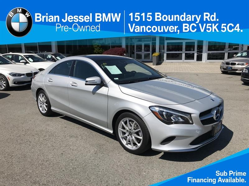 2018 Mercedes-Benz CLA250 4MATIC Coupe #BPS077