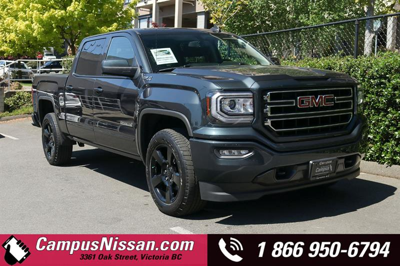2018 GMC Sierra 1500 | SLE | 4WD w/ Z71 Elevation Pckg #8-U447A