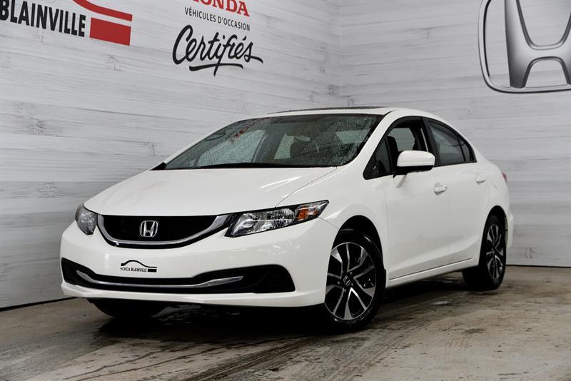 promo code 08166 8a85d 2015 Honda Civic Berline EX  U-1753
