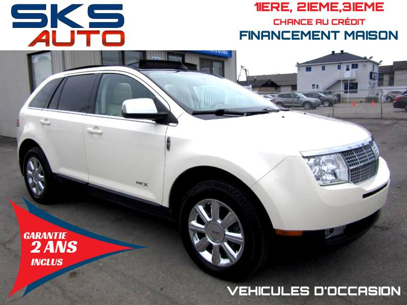 Lincoln MKX 2008 AWD (GARANTIE 2 ANS INCLUS) VEHICULE D'OCCASION #SKS-4384