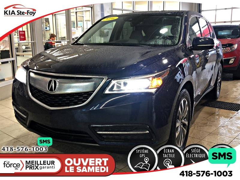 Acura MDX 2016 MDX *NAVIGATION *MAGS *CRUISE ADAPTATIF *CAMERA #U2364