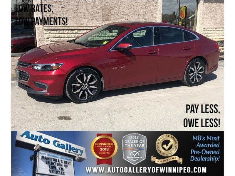 2017 Chevrolet Malibu LT *Htd Lthr/Roof/Navi/Bluetooth #23898