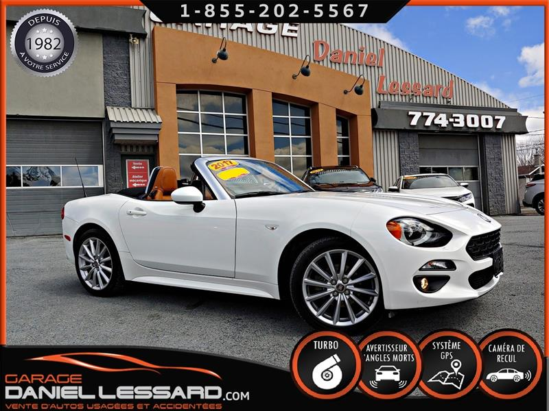 Fiat 124 Spider 2017 124 SPIDER LUSSO, CONVERTIBLE, CUIR, GPS #79253