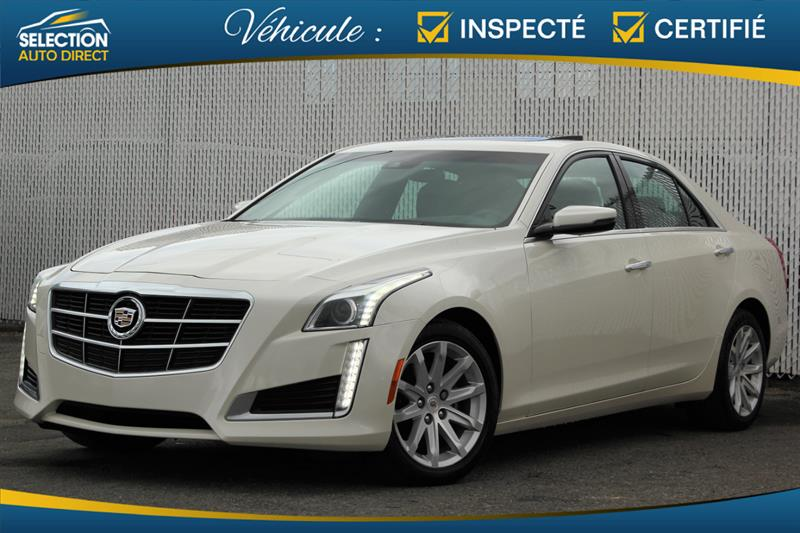 2014 Cadillac CTS Sedan 3.6L Luxury AWD #S162396