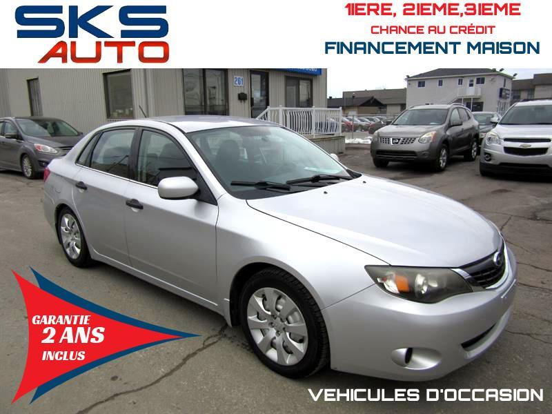 Subaru Impreza 2008 AWD (GARANTIE 2 ANS INCLUS) FINANCEMENT MAISON #SKS-4358-1