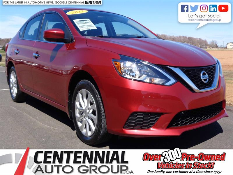 2017 Nissan Sentra  SV | Local Trade | One Owner #S19-103A