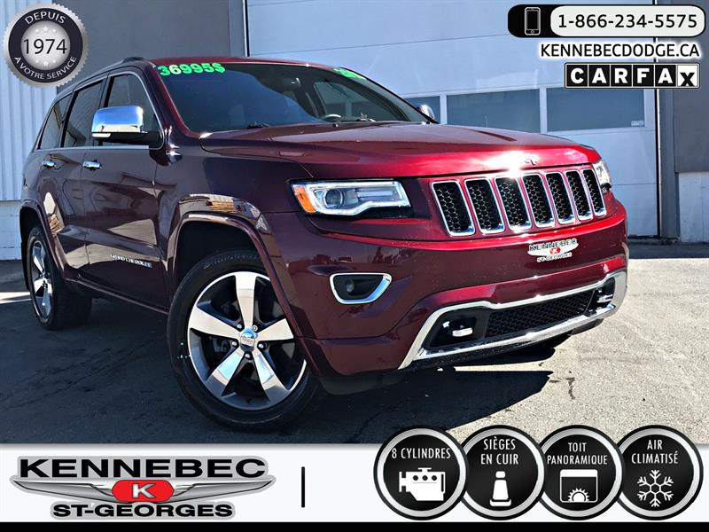 Jeep Grand Cherokee 2016 4WD 4dr Overland #39054a