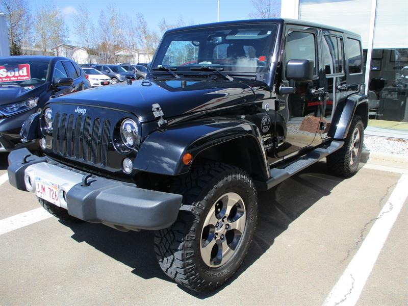 2015 Jeep Wrangler Unlimited 4WD 4dr Sahara #FL500461A