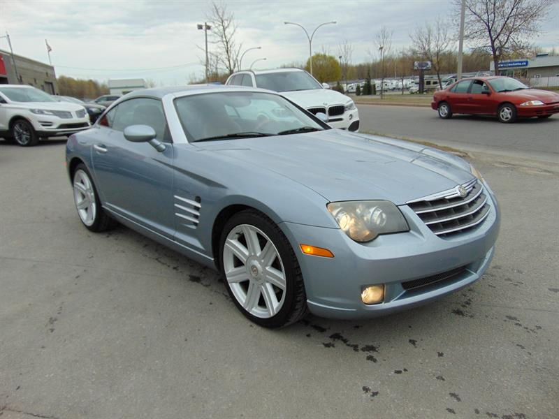 Chrysler Crossfire 2004 2dr Cpe LIMITED-PACKAGE 3.2 V/6 215 HP #4X013640