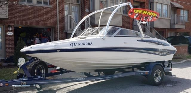 Crownline 202 BR 2007 19SS MERCRUISER #THCONS