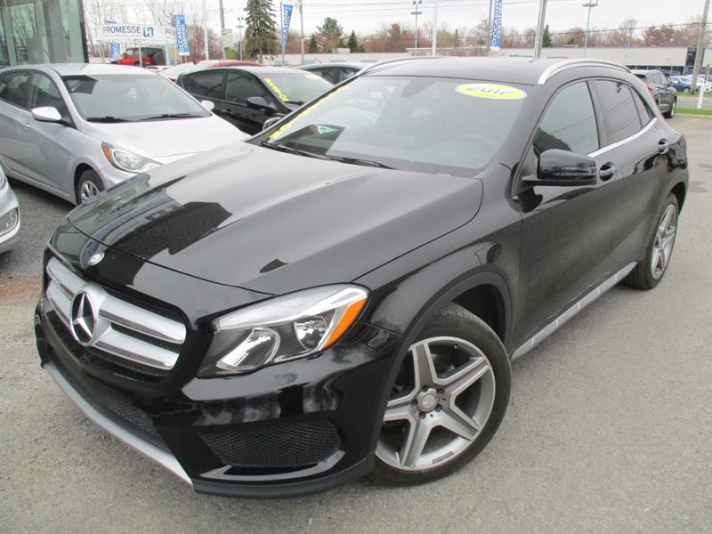 2017 Mercedes-Benz GLA 250, 4MATIC, CUIR , CAM, BLUETOOTH #A-2843