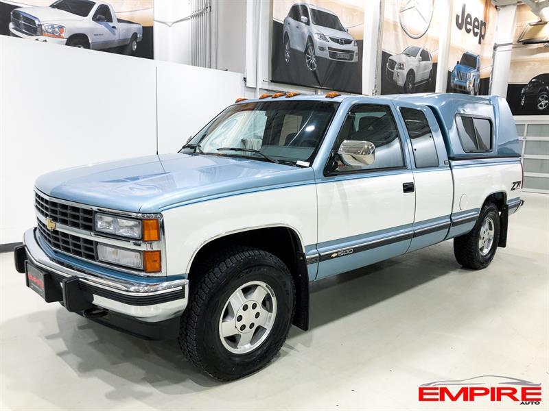 1992 Chevrolet Silverado 1500 4WD Club Cab #A7111