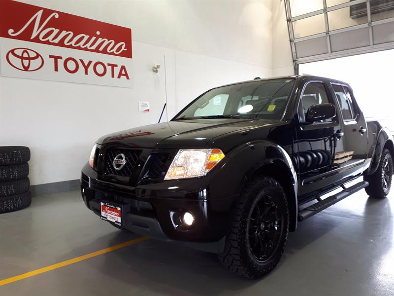 2018 Nissan Frontier Crew Cab 4x4 SV Mignight Edition #20742A