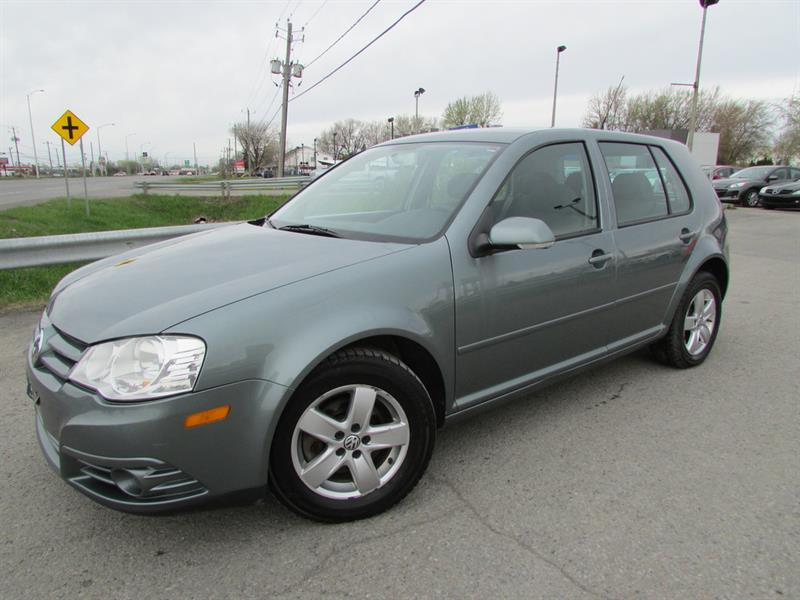 Volkswagen City Golf 2010 MAN. A/C CRUISE MAGS!! #4464A