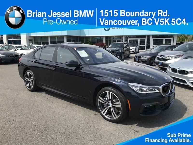 2016 BMW 750i xDrive #BP7722