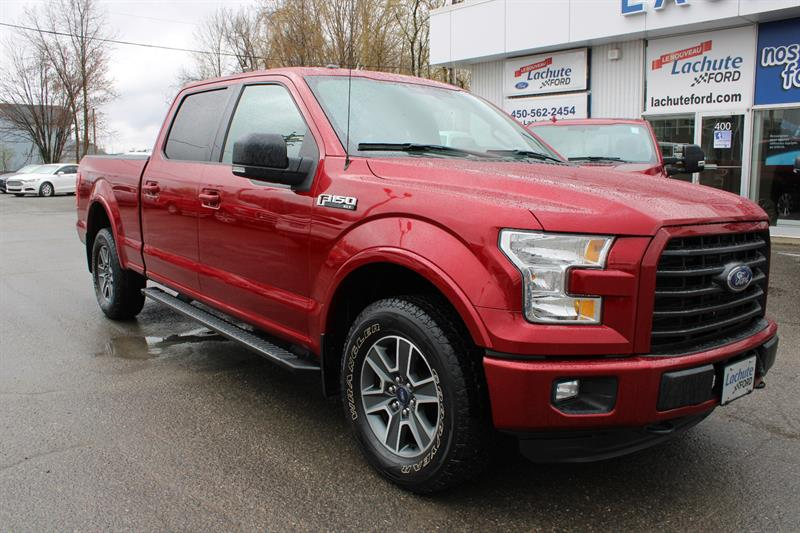 Ford F-150 2016 SUPERCREW XLT SPORT FX4. NAVIGATION. #19053A