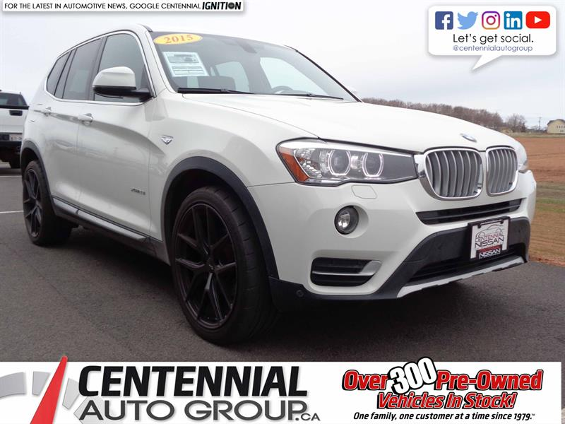 2015 BMW X3 xDrive28i | AWD | Local Trade #SP18-039A