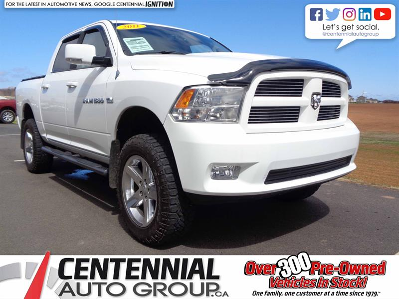2011 Ram 1500 Sport   4WD   Looks Awesome   #S18-095C