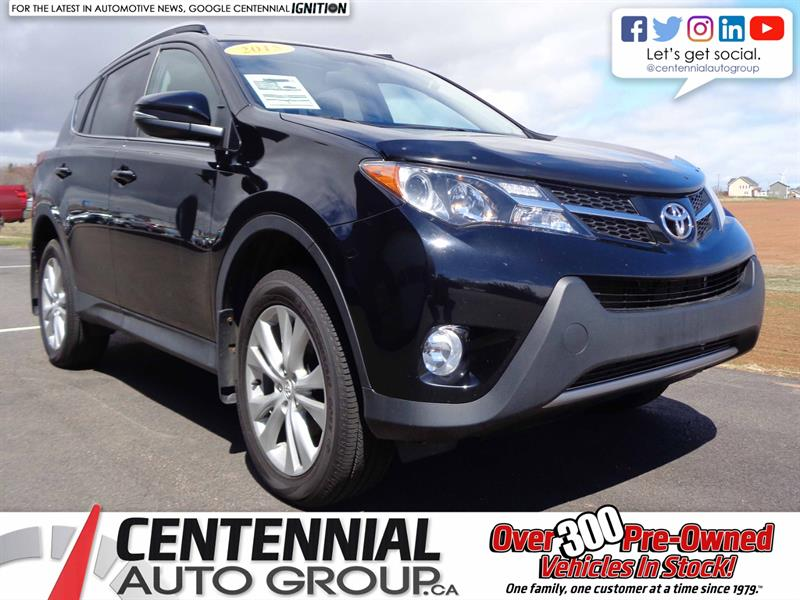 2015 Toyota RAV4 Limited | AWD | Local Trade | One Owner #S18-241A