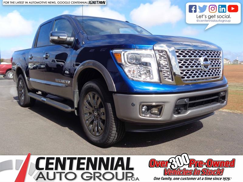 2018 Nissan Titan Platinum | New | $20,995 in Savings! |  #S18-129